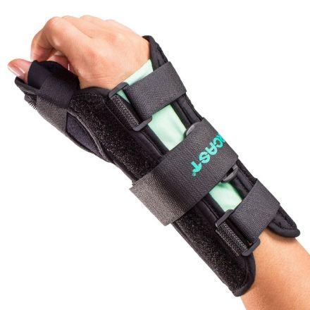 AIRCAST Wrist Brace With Spica - Large Left Wrist (USA)