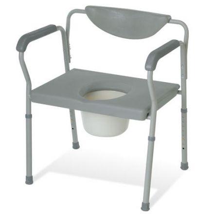 JMC Heavy Duty Steel Commode Chair