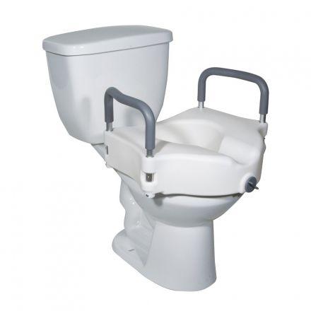 JMC Raised Toilet Seat