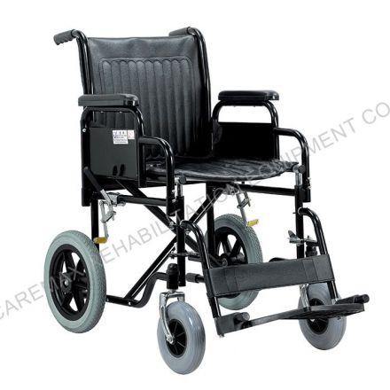CAREMAX Steel Wheelchair Small Wheels