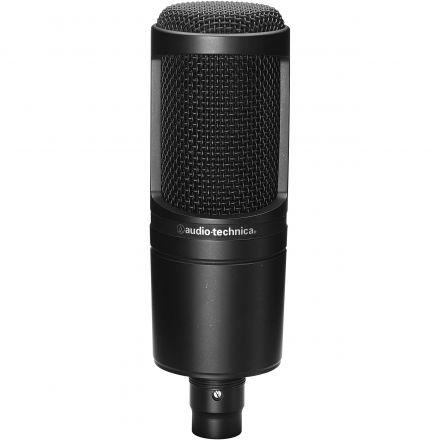 Audio-Technica At2020 Cardioid Medium-Diaphragm Condenser Microphone
