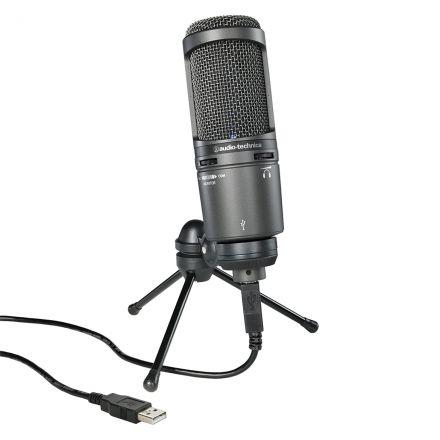 Audio-Technica At2020Usb+ Cardioid Condenser Usb Microphone