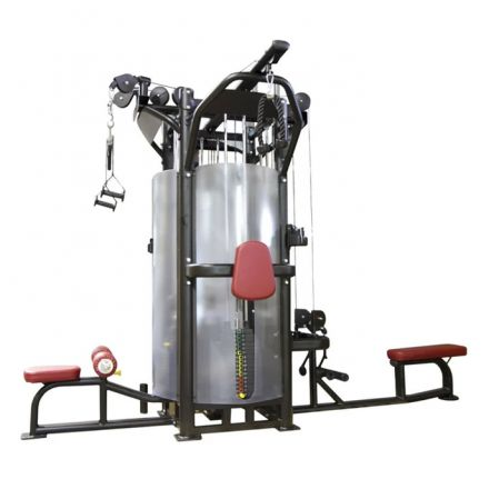 BH Fitness L480 with 4 Stack Multistation