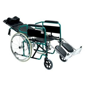 ALESSA Steel Reclining Wheelchair