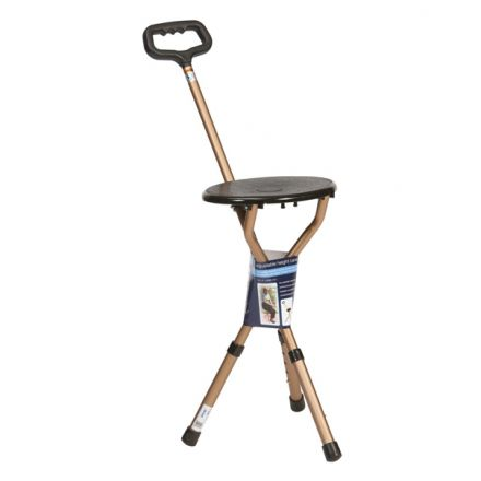 DRIVE Height Adjustable Folding Cane Seat