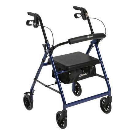 DRIVE Rollator Aluminum Light Weight - Blue Color (UK)