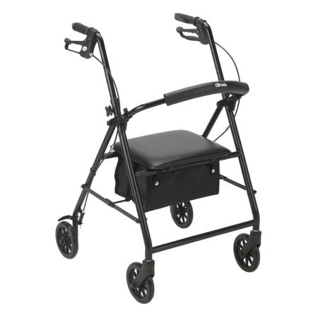 DRIVE Rollator Aluminum Light Weight  - Black Color (UK)