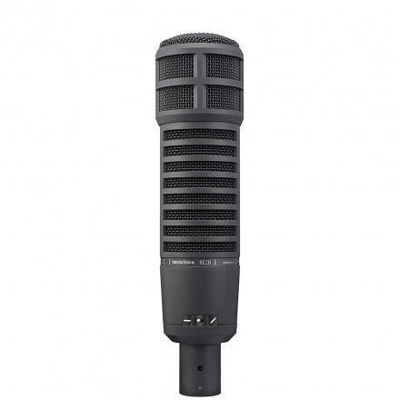 Electro-Voice Re20 Dynamic Broadcast Microphone With Variable-D - Black