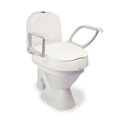 ETAC Cloo Toilet Seat Raiser with Arm Support