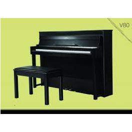 Galileo V80 Digital Piano 88 Keys Graded Hammer Action Velocity Sensitive. Walnut Color