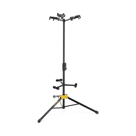 hercules gs432b plus acoustic/electric/bass guitar stand - three guitar stand