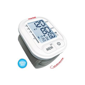 Medel Wrist Blood Pressure Monitor With Soft Inflate Technology