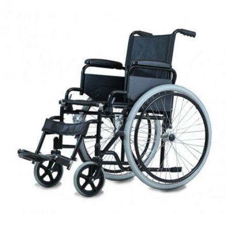 Al Essa Standard Wheelchair 46 cm- Solid Pu Tire/Spoke Wheel- Footrest & Arm Rest Removable