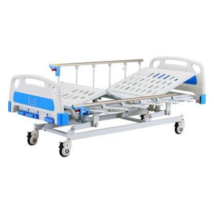 SAIKANG Manual Bed With Side Rail And Mattress