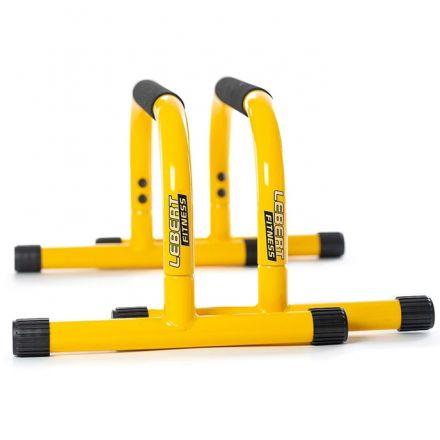 Lebert Fitness Parallettes Bars - Yellow