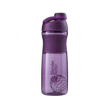 Blender Bottle SportMixer Shaker Cup - 28 oz - Plum