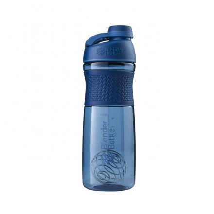 Blender Bottle SportMixer Shaker Cup - 28 oz - Navy