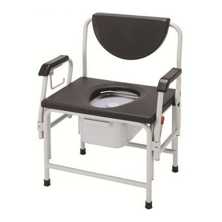MERITS Bariatric Commode (Without Horizontal Axles)