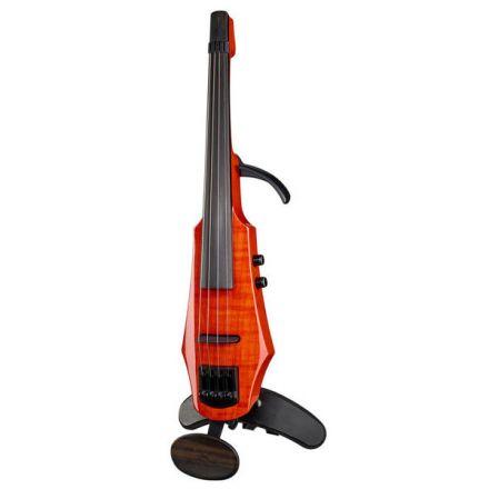 Ns Design Wav4 Violin - Polar Piezo Pickup - Custom Shoulder Rest & Chinrest - Amberburst Gloss