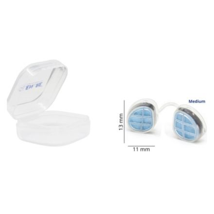 Clenare Invisible Nasal Filter Starter Pack, Rounded, Medium