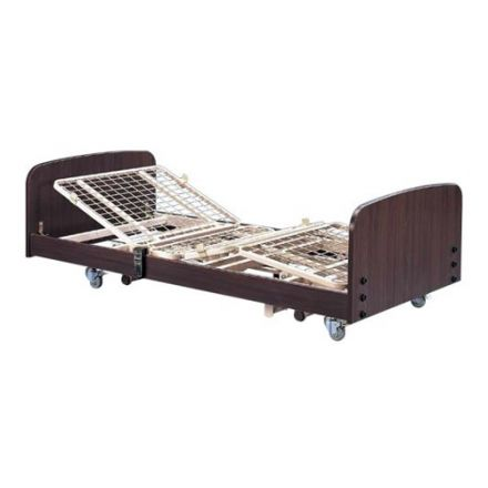 SIGMACARE Economic Electric Hospital Bed With Mattress & I.V. Pole