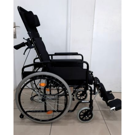 Reclining Wheelchair with Elevating footrest